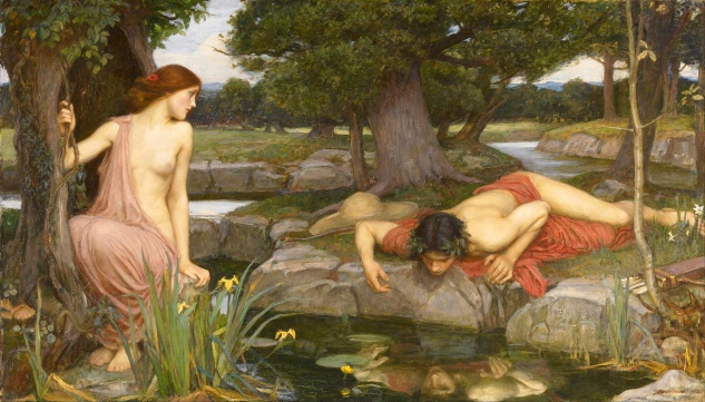 Echo and Narcissus by John Waterhouse (1903)